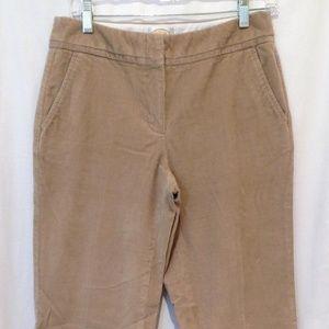 Talbots Stretch Wide Leg Trouser Pants Cords - 4